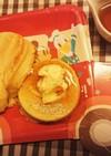 DAISOの型でスフレパンケーキ♪