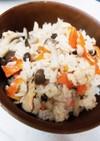 鮭ときのこの簡単炊き込みご飯♡