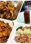 生姜シロップから生姜の佃煮と生姜のタレ