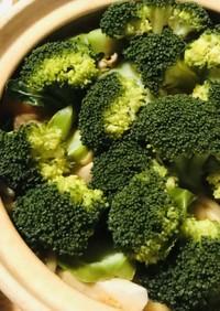 根菜とブロッコリーの温野菜サラダ鍋