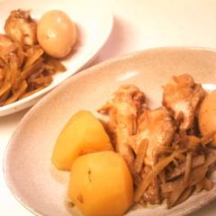 スロークッカーで簡単☆和風・鶏手羽玉子煮