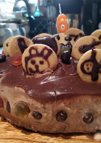 ゼラチン不要☆チョコムースケーキ