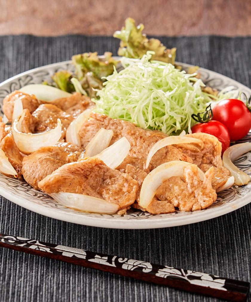簡単ダイエット♪大豆ミートの生姜焼き♡