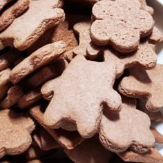 米粉のココアクッキー(グルテンフリー)