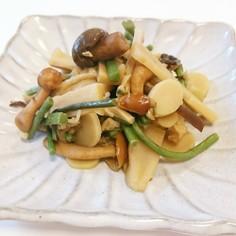 【ほっこり】めんまと山菜の煮物