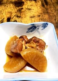 大根と豚ブロックの柚子胡椒風味煮込み