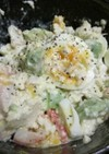 アボカドと木綿豆腐のサラダ