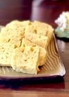 時短!レンジでサツマイモの蒸しパン