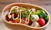 毎日のお弁当♪唐揚げマヨ丼の写真