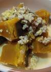 【減塩レシピ】かぼちゃのミルクそぼろ煮