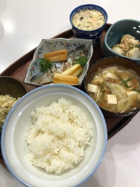 鯖の焼き煮