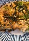 山芋とアミのお好み焼き風鉄板焼き♪