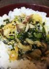 簡単美味・塩鯖と葱のそぼろ丼