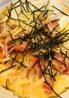 薄焼きカニ玉●カニカマ&チーズの玉子焼き
