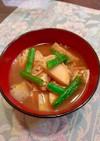 食べる味噌汁・5~里芋 えのき 油揚げ…