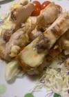グリルで鶏肉のマヨチーズ焼き