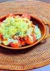 バターライスのチキントマトドリア