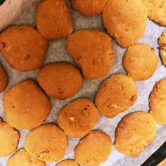 ナッツバタークッキー(ハムスターもぜひ)