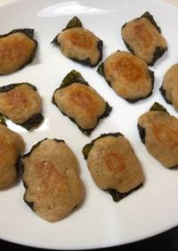 簡単自然薯(山芋)の磯辺揚げ(磯辺チン)