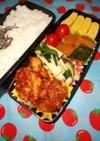 野菜たっぷり男子弁当 91