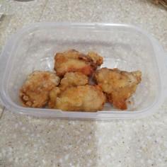 鶏胸肉のからあげ。お弁当に冷凍保存で