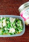 ブロッコリーと半熟卵の作り置きサラダ