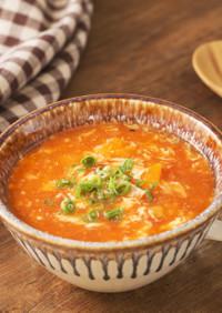 トマトのとうがらしスープ