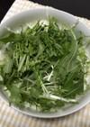 簡単!栄養満点緑黄色野菜サラダ