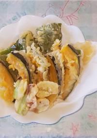 簡単♬︎♡野菜の天ぷら