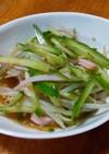 モヤシときゅうりとハムの簡単!中華サラダ