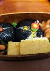 簡単・お弁当 マキシマムの海苔巻き
