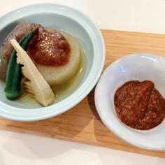 熟柿の田楽味噌