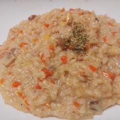 旨ウマ♪生米から作る本格チーズリゾット