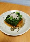 [簡単]レンジde小松菜のおひたし
