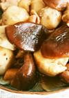 エビイモと鶏肉の煮もの
