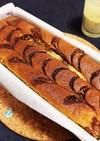 完熟バナナのチョコパウンドケーキ♡