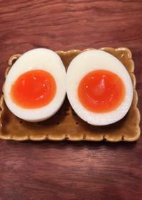 簡単!完璧な半熟卵の作り方(ゆで卵)