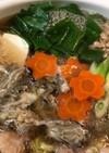 やまと芋とレモンで食べる☆牡蠣と鶏肉の鍋