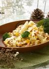 トッポキとレンズ豆のカルボナーラ