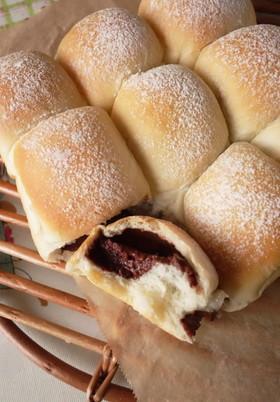 チョコちぢり白パン(HB使用)