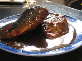 圧力鍋で簡単 骨まで食べれるサバの味噌煮