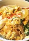 ふわっふわの関西風卵丼