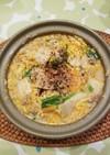 麻婆風ピリ辛豆乳鍋