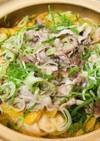 鍋の素mix●豚肉と根菜&白菜鍋