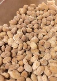 市販の納豆菌使用!自家製納豆