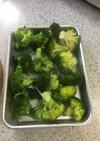ブロッコリーの冷凍保存の仕方
