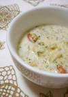 クリスマス☆ブロッコリーのほろほろスープ