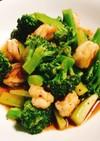 ✦海老とブロッコリーのタイ中華炒め✦