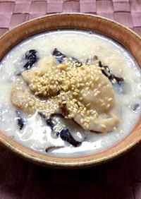 妊活応援レシピ きくらげの豆乳スープ