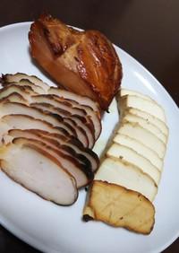 100均土鍋で鶏むね肉の燻製